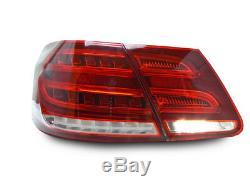 Facelift Style LED Light Bar Tail Lamp For 2010-13 Mercedes W212 E Class Sedan