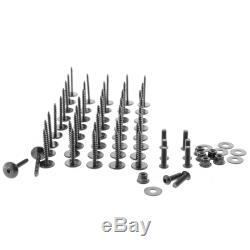 Fender Flares For All Can Am Maverick X3 (Black) (6 Piece Complete Set)