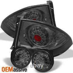 Fits Smoked 01-05 Lexus Is300 Altezza JDM LED Tail Lights WithLED Trunk Piece Set