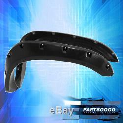 For 02-08 Dodge Ram 1500 Pickup Paintable Pocket Rivet Style Wheel Fender Flare