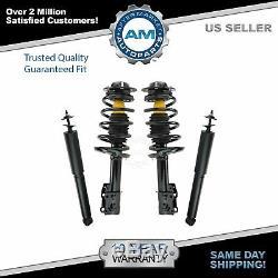 For 05-07 08 09 10 11 12 Pontiac G6 Chevy Malibu Struts & Shock Absorber 4pc Kit