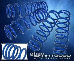 For 79-04 Ford Mustang GT Blue Performance Suspension Lowering Springs Kit F+R