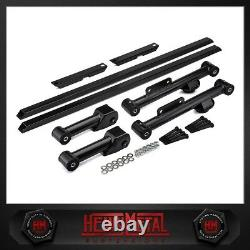 For Ford Mustang Rear Control Arms Upper Lower Subframe Connector Kit 1979-2004