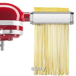 For KitchenAid Pasta Roller Cutter Maker Kit 3-piece Stand Mixer Attachment Set