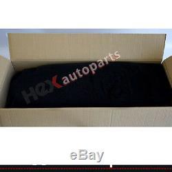 For YJ Jeep Wrangler 1987-1995 6 Piece Full Set Carpet Kit Floor Mat Black
