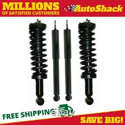 Front Complete Strut and Rear Shock Set for 1996-2000 2001 2002 Toyota 4Runner