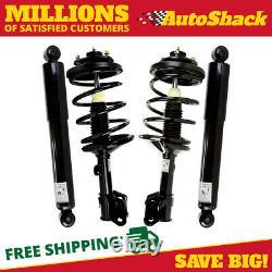 Front Complete Strut and Rear Shock Set for 1999-2002 2003 2004 Honda Odyssey
