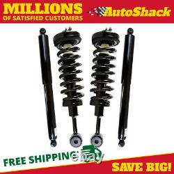Front Complete Strut and Rear Shock Set for 2004-2006 2007 2008 Ford F-150 4WD