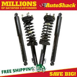 Front Complete Strut and Rear Shock Set for 2005-2009 2010 Jeep Grand Cherokee