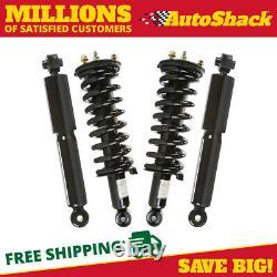 Front Complete Strut and Rear Shock Set for 2005-2010 2011 Nissan Pathfinder