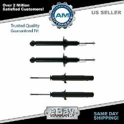 Front & Rear Shock Absorber Strut Kit Set of 4 for Acura TL Honda Accord
