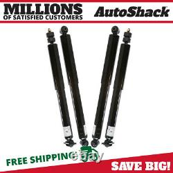 Front and Rear Shock Absorber Set of 4 for 1999-2004 Jeep Grand Cherokee 4.7L V8