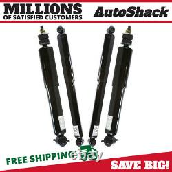 Front and Rear Shock Absorber Set of 4 for B2500 B4000 B3000 B2300 Ford Ranger