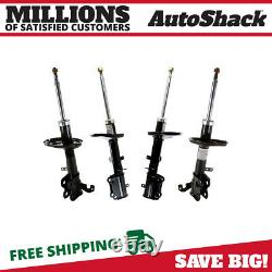Front and Rear Shock Strut Assembly Set of 4 for Corolla Prizm 1998-2002 Prizm