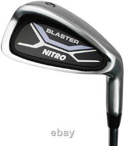 Golf Club Set For Ladies 13 Piece Right Handed Nitro Titanium Complete Clubs Bag