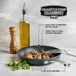 Granitestone Pro 13 Piece Hard Anodized Aluminum Nonstick Cookware Set