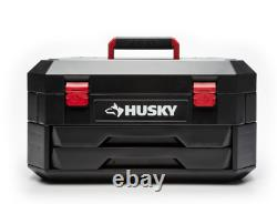 HUSKY MECHANICS TOOL SET 290-PIECE with Case SAE Metric Sockets Wrenches Ratchets