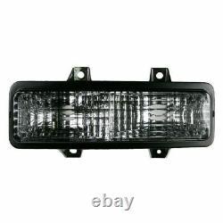 Headlight Lamp Bezel Parking Marker Light for 89-91 Chevy Truck SUV New