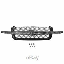 Headlight Parking Lamp Grille Mounting Panel Kit Set for Silverado Avalanche New
