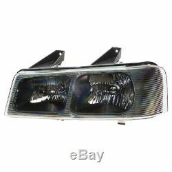 Headlight Parking Light Lamp Front Kit LH RH Set for Express Savana Van New