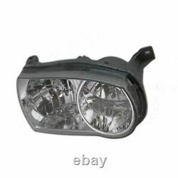 Headlights & Parking Corner Lights Left & Right Kit Set for 01-02 Toyota Corolla
