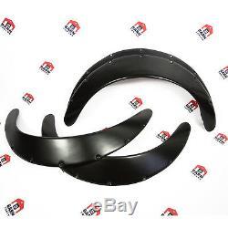 JDM Fender Flares UNIVERSAL Wheel arch SET 3 wide 4 pieces