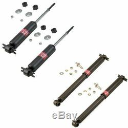 KYB Excel-G 343127 343157 Front Rear Suspension Shock Absorber Kit Set 4pc New