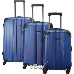 Kenneth Cole Reaction Out of Bounds 3 Piece Hardside Luggage Set NEW