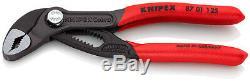Knipex Cobra 5 Piece Adjustable Plier Set 001955S5 5 to 12 Water Pump Pliers