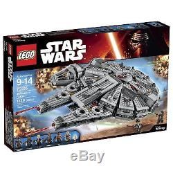 LEGO Star Wars Millennium Falcon Building Kit 75105 1329 Pieces BRAND NEW