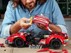 LEGO Technic Ferrari 488 GTE AF Corse #51 42125 Building Kit (1,677 Pieces)