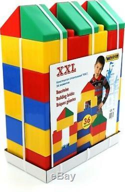 Large Building Bricks Blocks XXL Wader Large Construction (24-134 Pieces)