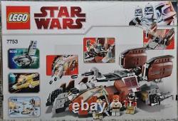 Lego 7753 Star Wars Pirate Tank New Bent Box NISB 372 Pieces