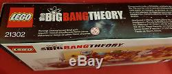 Lego Ideas The Big Bang Theory #21302 BRAND NEW FACTORY SEALED 484 Pieces NIB