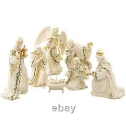 Lenox 7 piece Miniature NATIVITY set Holy Family Brand new in Box