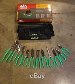 Mac Tools 11 piece Pliers set New P301998G