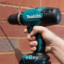 Makita DHP453SFTK 18v Lithium Combi Hammer Drill + 101 Piece Screwdriver Bit Set