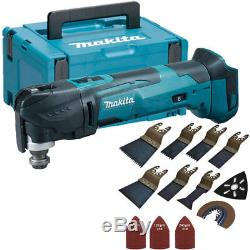 Makita DTM51Z LXT 18V Oscillating Multitool in Case & 39 Piece Accessories Set
