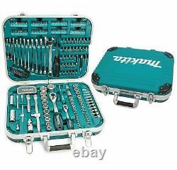 Makita P-90532 227 Piece General Maintenance Spanner Socket Screwdriver Bit Set