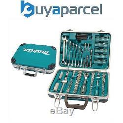 Makita P-90635 118 Piece General Maintenance Spanner Socket Screwdriver Bit Set