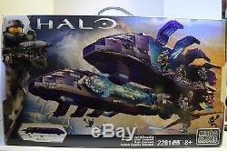 Mega Bloks Halo Covenant Spirit Dropship Building Set 2200 Pieces New