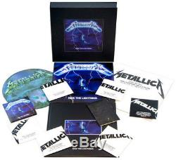 Metallica Ride the Lightning (Deluxe Box Set) New Vinyl LP Patch, With CD, W