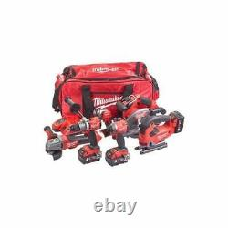 Milwaukee M18FPP6D2-503B 18v 6 Piece Kit Cordless Fuel 6 Piece Tool set Tool Bag
