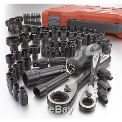NEW Craftsman 85 pc Piece Universal Max Axess Ratchet Socket Tool Set SAE Metric