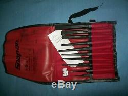 NEW Snap-on PPC710BK 11-piece Punch and Chisel Set in Bag Unused