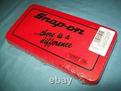 NEW Snap-on TDM117A 41-piece 3 to 12 mm NF / NC METRIC Tap and Die Set SEALed