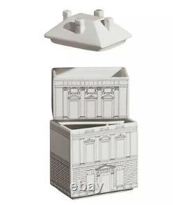NIB SELETTI PALACE COLLECTION, PALAZZINA SET Porcelain 3 Piece Container Set