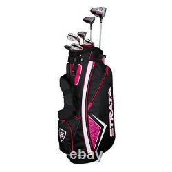 New Callaway Strata 11-Piece Womens Complete Golf Club Set Right Handed