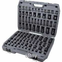 New Ingersoll Rand Sk34c86 86 Piece Sae & Metric Impact Socket Wrench Set Sale