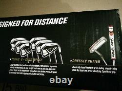 New Model 2021 Callaway EDGE Golf Set 10 piece REGULAR FREE shipCHEAP